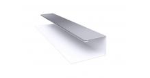 Металлические доборные элементы для фасада в Самаре Планка П-образная/завершающая сложная 20х30