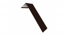 Металлические доборные элементы для фасада в Самаре Планка лобовая/околооконная простая 190х50
